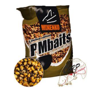Прикормка зерновая Minenko PMbaits Big Pack Ready To Use Mix №1 Garlic кукуруза