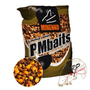 Прикормка зерновая Minenko PMbaits Big Pack Ready To Use Mix №1 Strawberry кукуруза