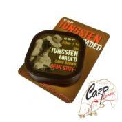 Поводковый материал ESP Tungsten Loaded 20lb Camo Stiff 10mt утяжеленный вальфрамом