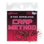 Крючки Drennan Eyed Barbless Carp Method 10