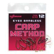 Крючки Drennan Eyed Barbless Carp Method 12