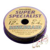 Поводковый материал Drennan S'Specialist Sinkbraid 12lb