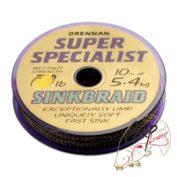 Поводковый материал Drennan S'Specialist Sinkbraid 15lb