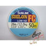 Флюорокарбон Sunline SIG-FC 50m 0.445 mm 12 kg поводковый