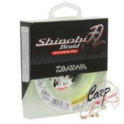 Плетеная леска Daiwa Shinobi Braid Green 0.12мм 10lb 135м