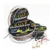 Ледкор без свинца Climax Cult SnakeBraid 40lb 10 m Silt