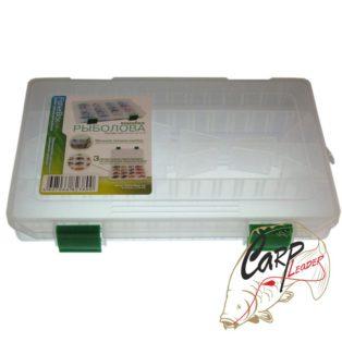 Коробка рыбака пластиковая 220х160х30 ФФК-220slim Fisherman