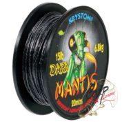 Поводковый материал Kryston Mantis Dark 15lb 6.8kg