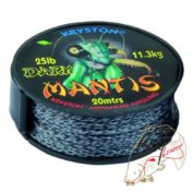 Поводковый материал Kryston Mantis Dark 25lb 11.3kg