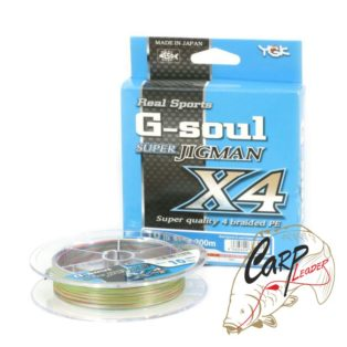 Плетенный шнур YGK G-Soul Super Jigman X4 200m 0.5 0.117 mm 10 lb 4.5 kg
