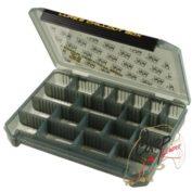 Коробка для приманок Pontoon21 Lures Chillout Box 205x145x40 черный/верх прозр