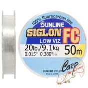 Флюорокарбон Sunline SIG-FC 50m 0.38 mm 9.1 kg поводковый