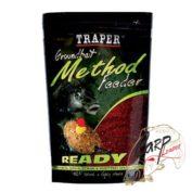Прикормка Traper 00162_Metod Feeder Ready Frech Strawberry 750г.