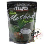 Прикормка Traper 00163_Metod Feeder Ready Green Betanie 750г.