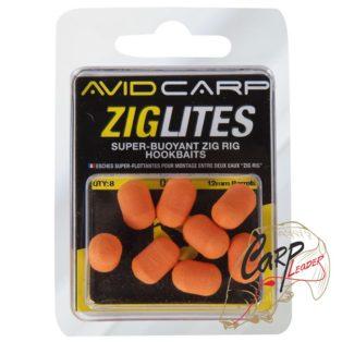 Овалы насадочные плавающие Avid Carp 12 мм оранжевый