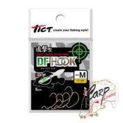 Крючки офсетные Tict DF Hook M-Gold 5