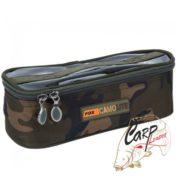 Сумка для аксессуаров Fox Camolite Accessory Bags Slim с прозрачной крышкой