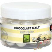 Бойлы плавающие флуор Rod Hutchinson Fluoro Pop Ups Chocolate Malt with Regular Sense Appeal 15mm