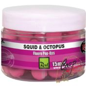 Бойлы плавающие флуор Rod Hutchinson Fluoro Pop Ups Squid Octopus with Amino Blend Swan Mussell 15m