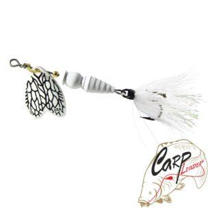 Блесна Mepps Bug 2 White Miller 7гр