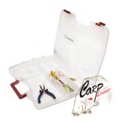 Коробка Kosadaka TB1210 380x290x60мм для приманок регулируемая с ручкой