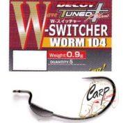 Крючок подгруженный Decoy офсетный Worm 104 2/0 5 шт.
