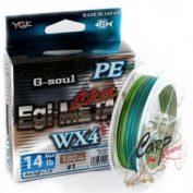 Плетенный шнур YGK G-Soul Egi-Metal 180m 0.8-14lb