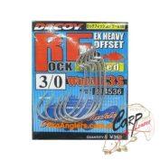 Крючок Decoy офсетный Rock fish Limited Worm 13S 3/0