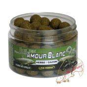 Бойлы Fun Fishing Amour Blanc-Bouillettes-Herbe/Gazon-15 mm 300 g
