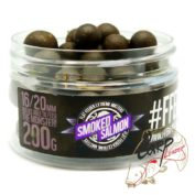 Бойлы FFEM Super Soluble Boilies Smoked Salmon 16 / 20 mm 200g