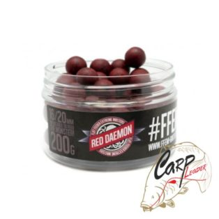Бойлы FFEM Super Soluble Boilies Red Deamon 16 / 20 mm 200g