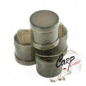 Набор баночек компактный для насадки в чехле Ridge Monkey Modular Hookbait Pots Green