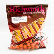 Бойлы Richworth Euroboilies 20 mm 1 kg Tutti Frutti тутти ричворт