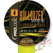 Леска PROLogic Bulldozer FC Coated Mono Fluo Yellow 1000m 10lbs 0.28mm