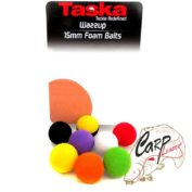 Плавающая искуственная насадка Taska Wazzup Foam Balls Mix 15mm