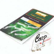 Изогнутая трубка для крючка PB Products Aligner Clear креветка (8шт)