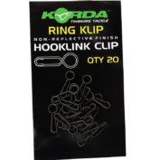 Застежка для поводков с кольцом Korda Ring Klip