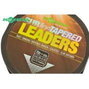 Лидер конический Korda Subline Tapered Leader Brown 0.28-0.50мм 5x12м