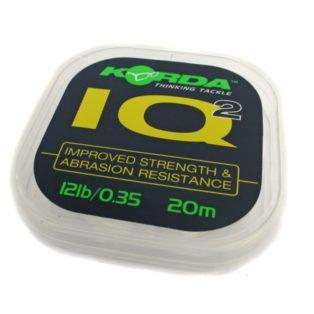 Поводковый материал Korda IQ2 Fluoracarbon d-0.35мм 25м