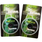 Поводковый материал Korda Super Natural 25 lb Green