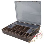 Коробка системная PROLogic New Green Tackle Organizer 6+1 BoxSystem 37x30x6 см.