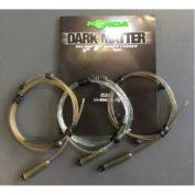 Поводок Korda Dark Matter Leader Heli 40 lb 1м Silt