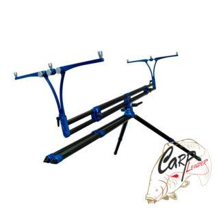 Род под на 4 удилища Meccanica Vadese Revolution 4 Rods Black Tubes & Blue Joints