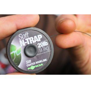 Поводковый материал Korda N Trap Soft 20 lb Green