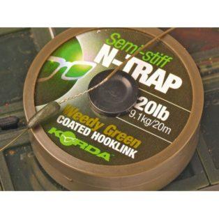 Поводковый материал Korda N Trap Semi Weedy Green 20lb