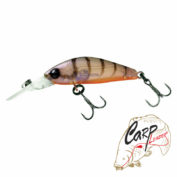 Воблер Jackall Diving Chubby Minnow SP brown suji shrimp