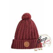 Шапка Avid Carp Bobble Hat - Burgundy