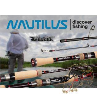 Спиннинг Nautilus Avenger Twitching 198см 7-28гр