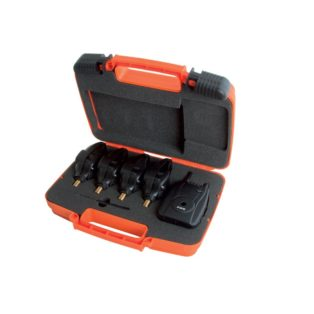 Набор сигнализаторов с с пейджером Fox Micron MXr+ - 4 Rod Set Red/Orange/Green/Blue