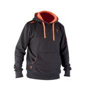 Толстовка с капюшоном Fox Black & Orange Hoody - XL